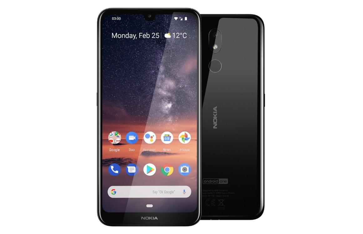 Nokia 3.2 Voor-achterkant