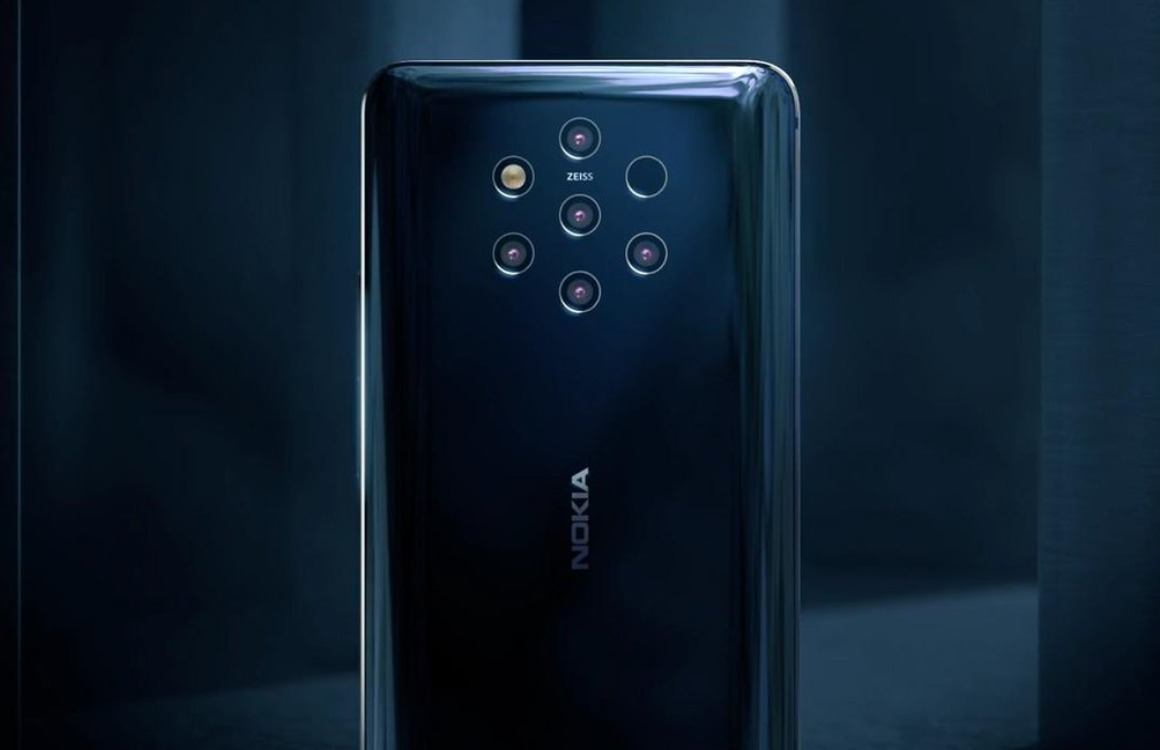 Nokia 9 PureView camera's