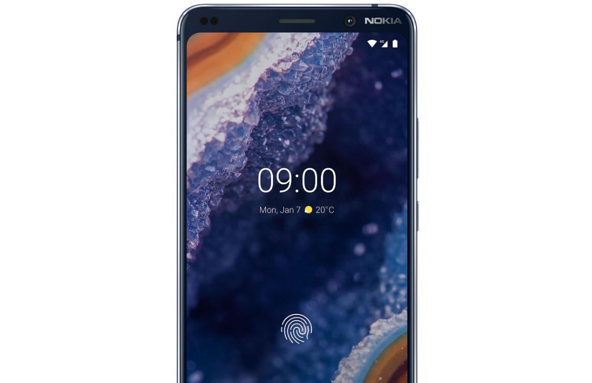 Nokia 9 PureView vingerafdrukscanner