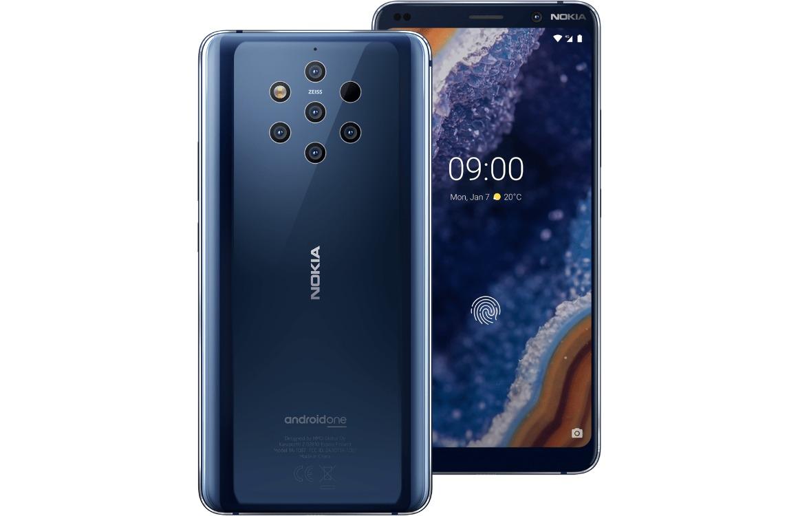 Nokia 9 PureView voor-achterkant