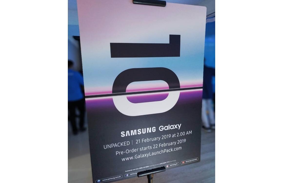 Samsung Galaxy S10 Pre-order gerucht Indonesië