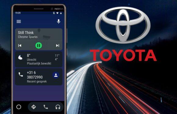 Toyota omarmt Android Auto: met deze 6 modellen kun je straks de weg op