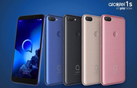 Alcatel brengt budgetsmartphones met dubbele camera, vingerafdrukscanner uit