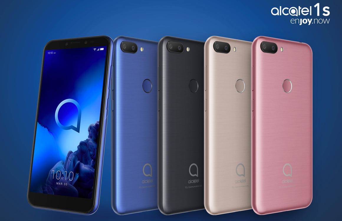 Nieuwe Alcatel-smartphones 2019