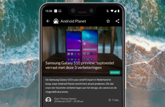 Android nieuws #8: alles over de Samsung Galaxy S10, S10 Plus en S10e