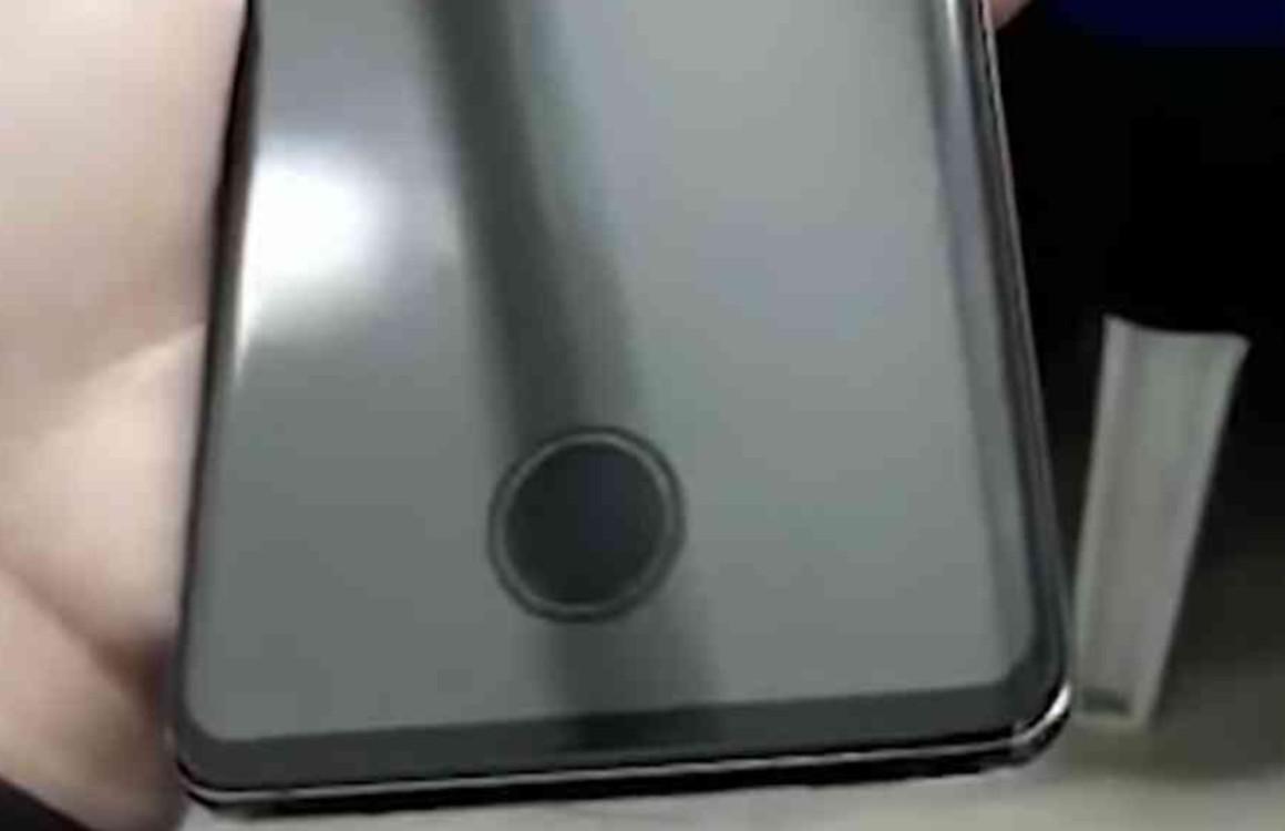 'Vingerafdrukscanner Galaxy S10 vereist gat in screenprotector'
