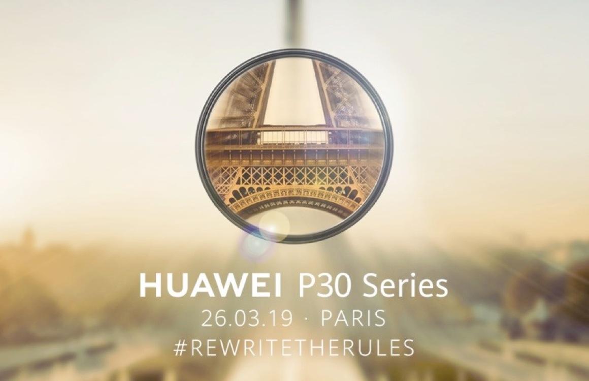 Huawei presenteert P30, P30 Pro en P30 Lite op 26 maart