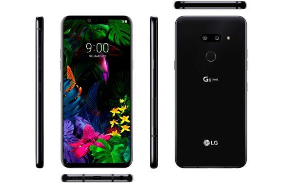 'Officiële LG G8 ThinQ-render toont de smartphone van alle kanten'