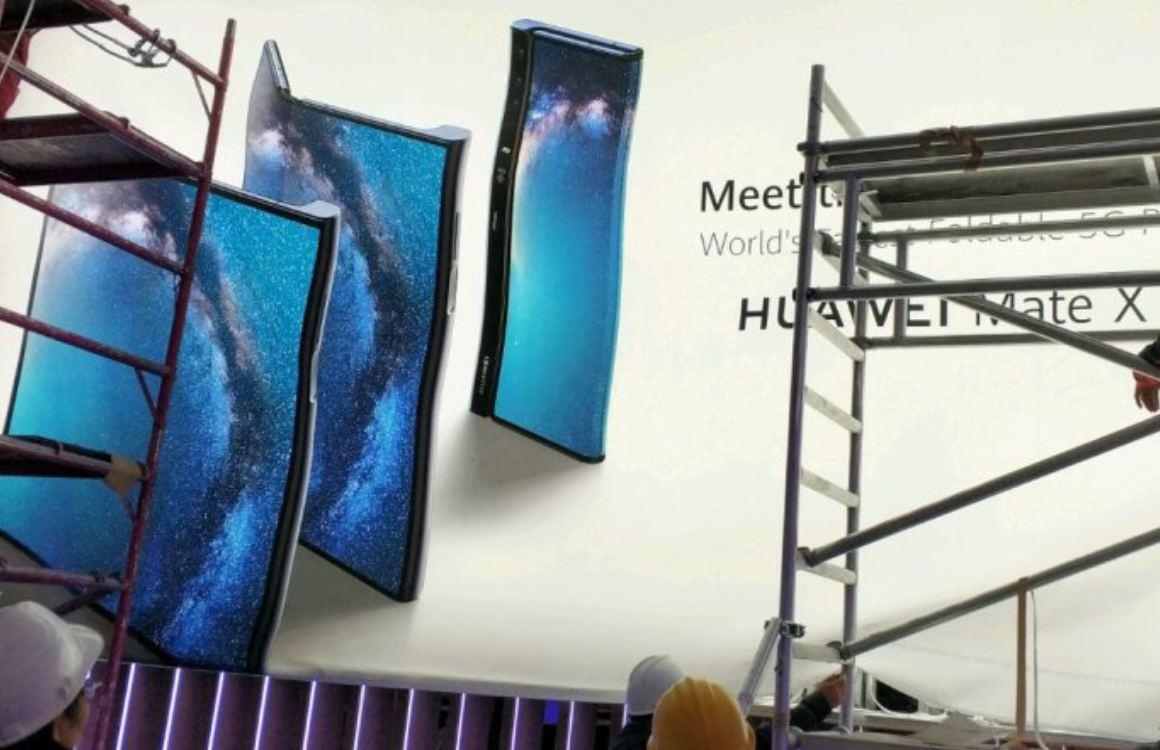 'Huawei Mate X gelekt: vouwbare 5G-smartphone met enkel scherm'