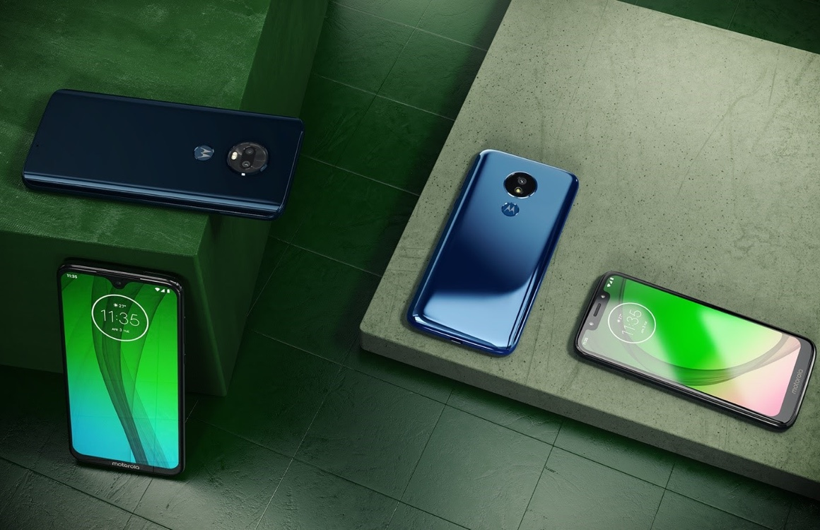 Motorola Moto G7 Plus, G7 Power en G7 Play nu te koop in Nederland
