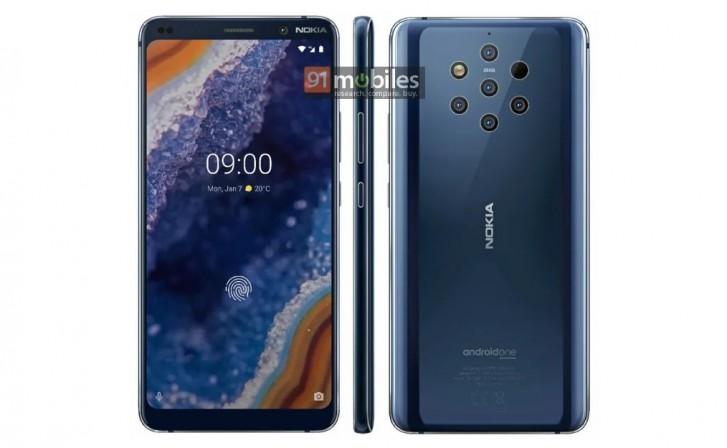 Nokia 9 Plus afbeelding uitgelekt