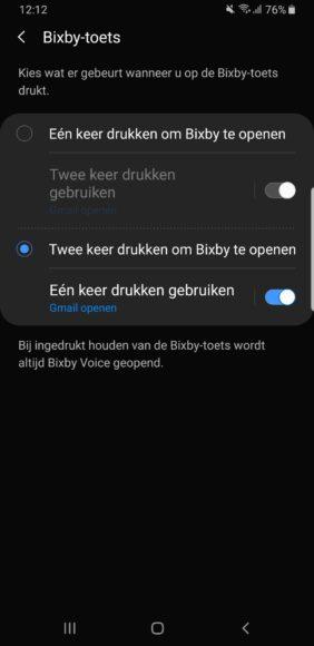 samsung bixby-knop aanpassen