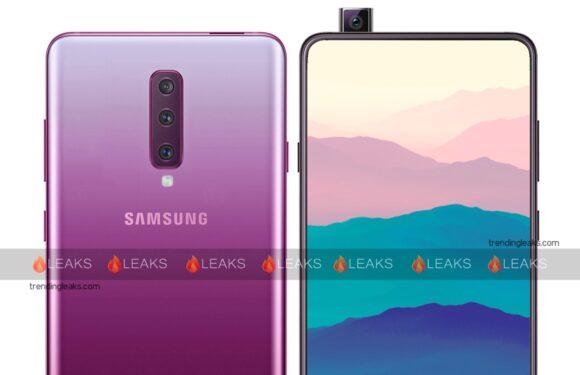 Gerucht: Samsung werkt aan smartphone met uitschuifbare frontcamera
