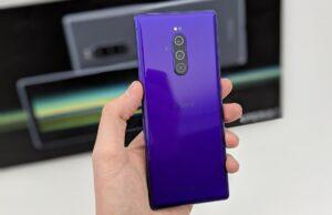 Sony Xperia 1 camera