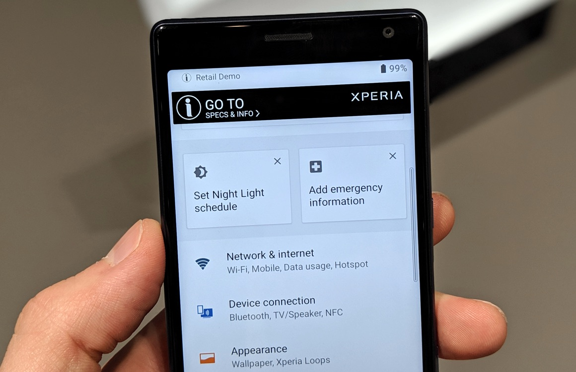 sony xperia 10 preview