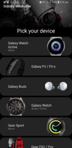 Nieuwe Samsung-wearables 2019