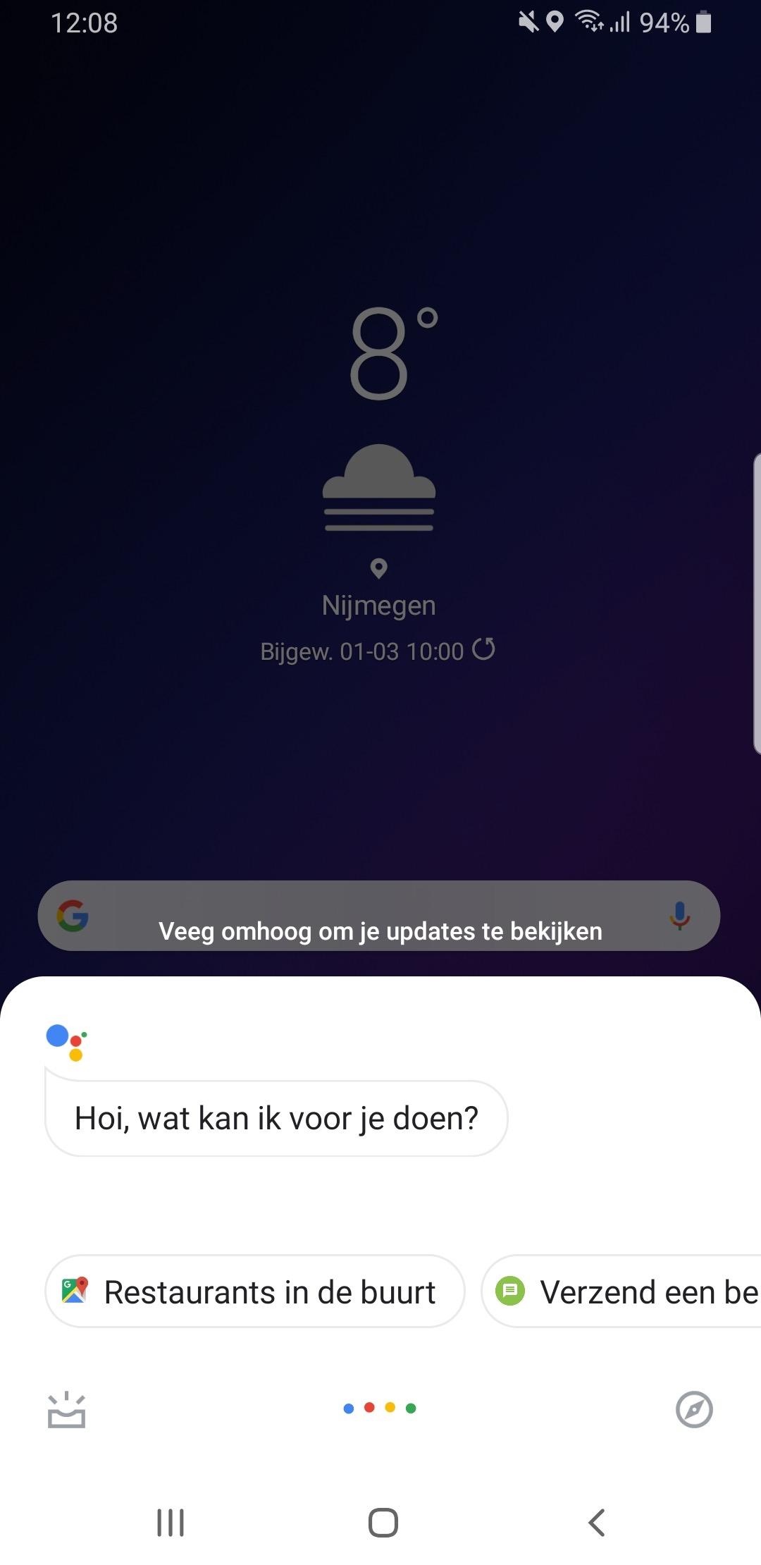 Bixby-knop op je Galaxy koppelen aan de Google Assistent doe