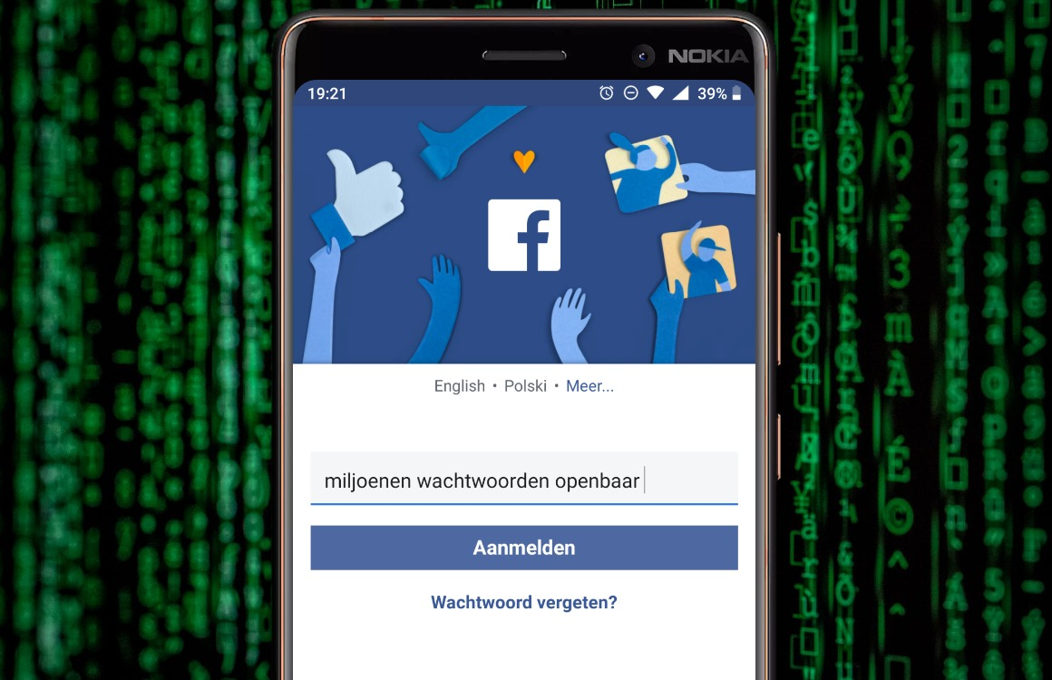 Facebook en Instagram-wachtwoorden opnieuw gelekt: zo pas je het nu aan
