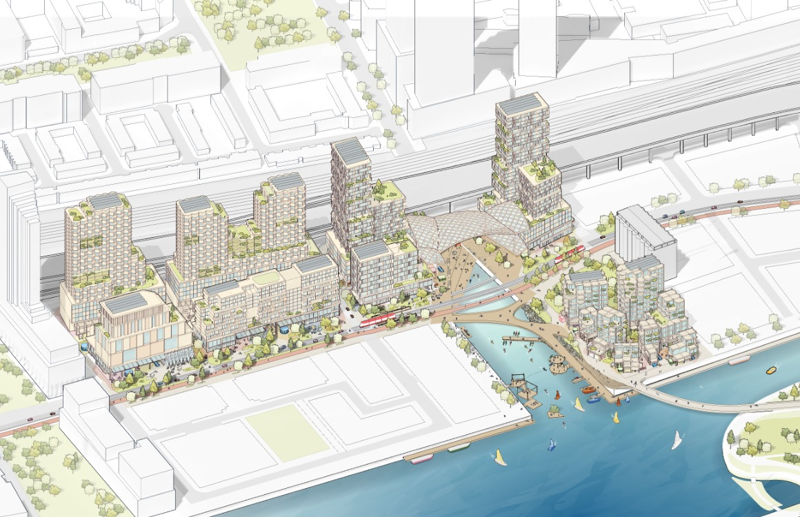 Quayside Google Smart city havengebied