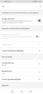 Google Voice Match-ontgrendeling