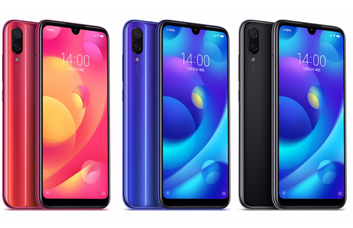 Xiaomi Mi Play kleuren