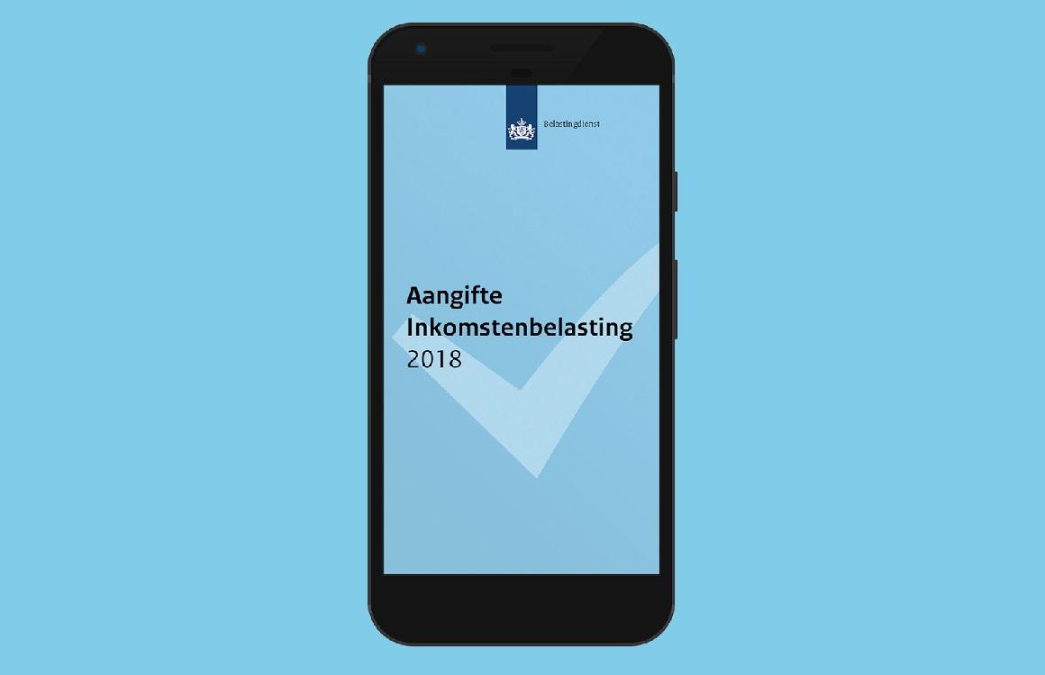 Doe je belastingaangifte op je smartphone met Aangifte 2018