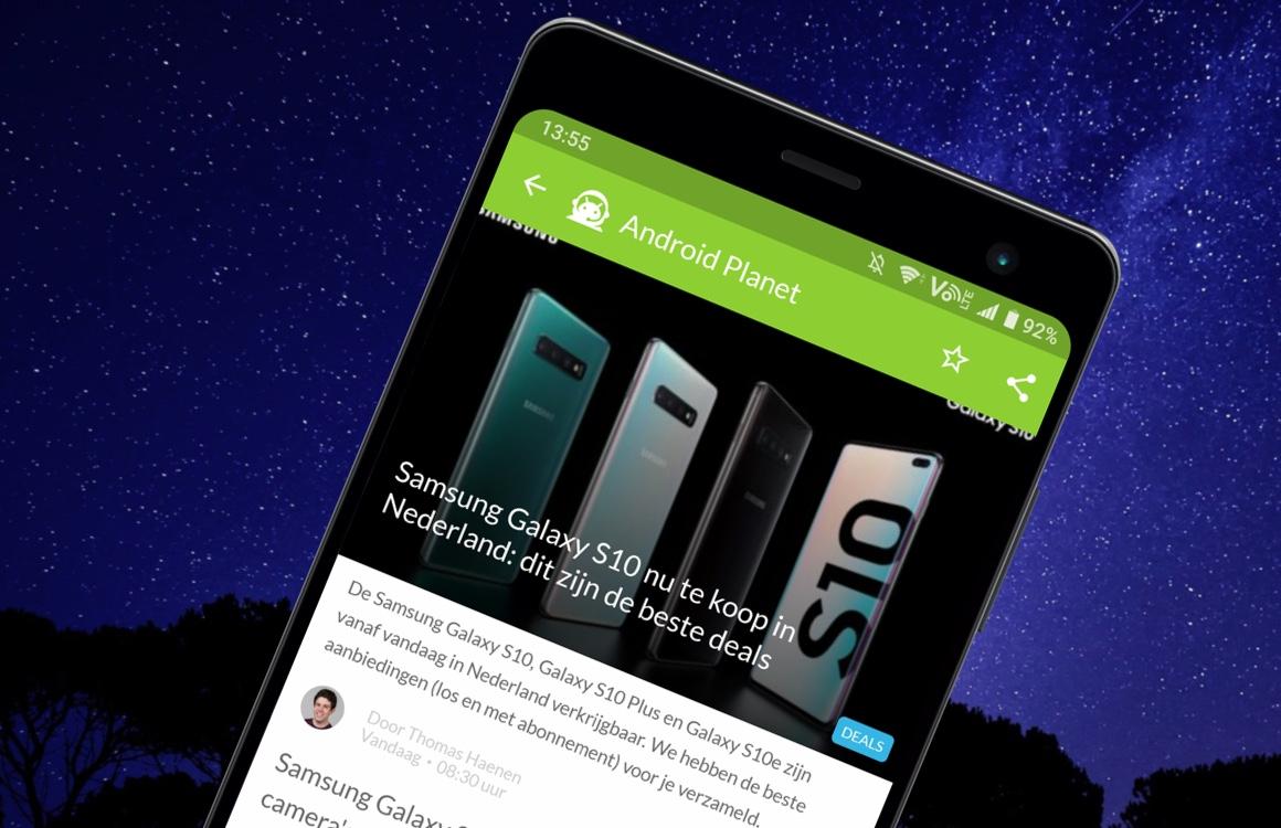 Android nieuws #10: Samsung Galaxy S10 release en OnePlus 7