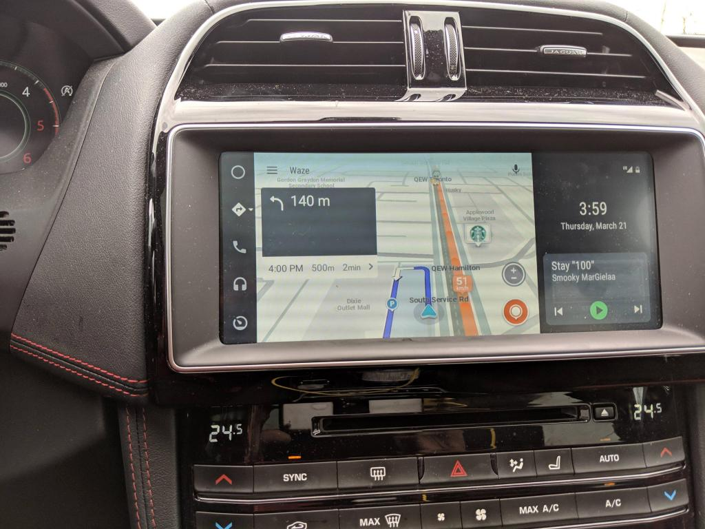 Android Auto breedbeeld-update