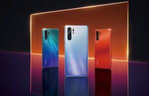 Huawei P30 pre-order uitgelekt