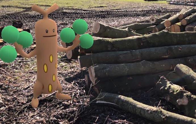 Pokémon GO weer geïnstalleerd