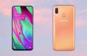 Samsung Galaxy A40 officieel