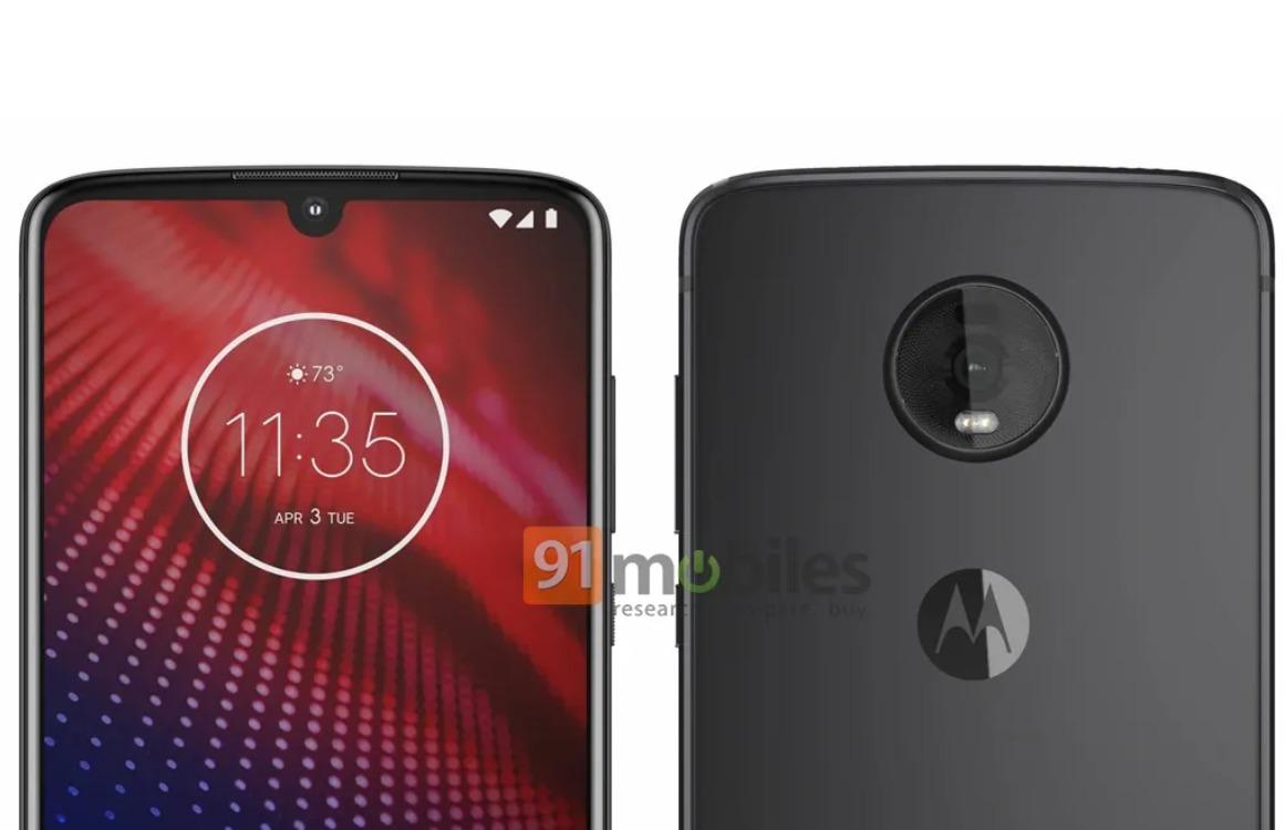 'Dit is de Motorola Moto Z4 met 48 megapixel-camera, 5G en forse accu'