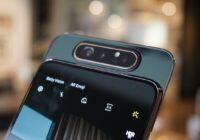 Samsung brengt Galaxy A80 met kantelende camera uit in Nederland