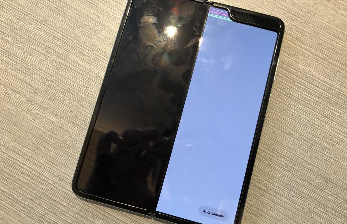 Samsung Galaxy Fold scherm kapot Kovach
