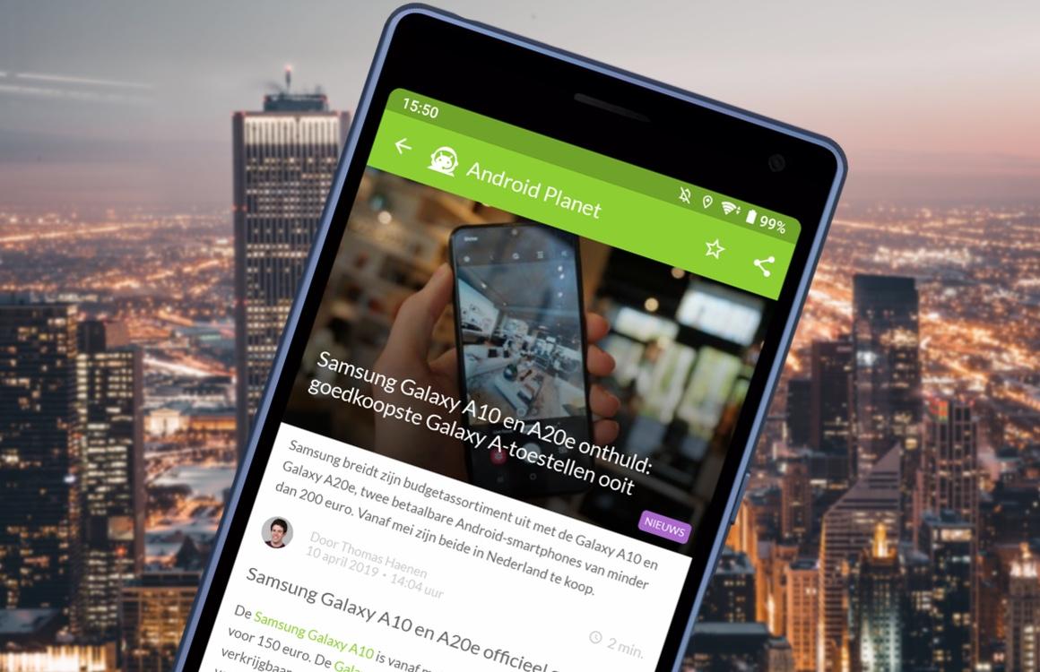 Android nieuws #15: Samsung Galaxy A-serie en Google Maps-advertenties