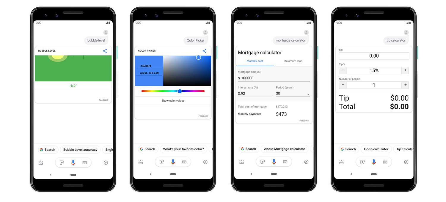 google assistent visueler