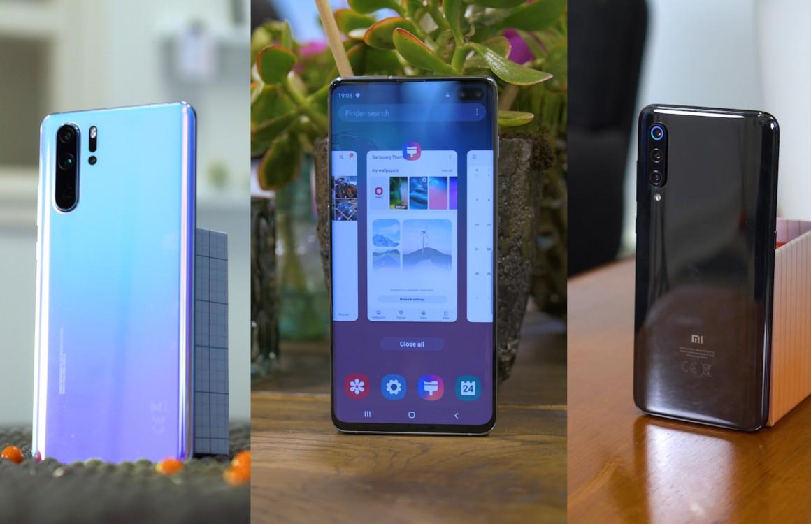 Beste Android-smartphones voorjaar 2019