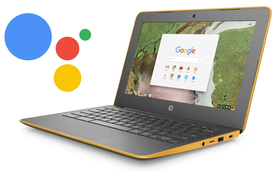 chromebook google assistent