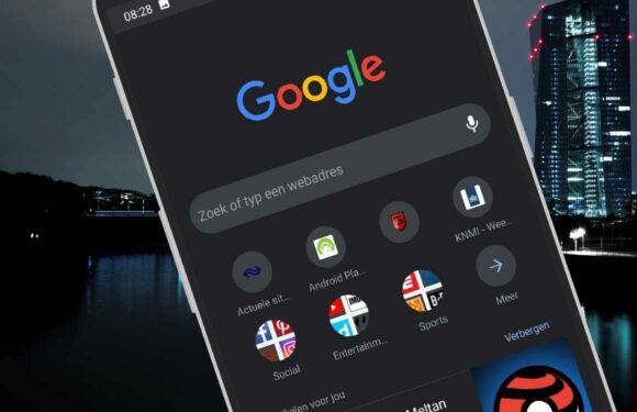 Zo schakel je de donkere modus van Google Chrome in