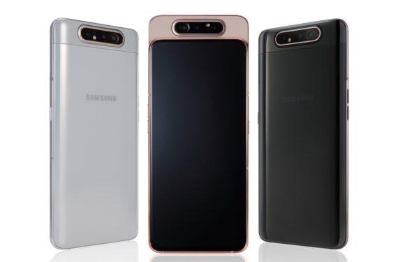 Samsung introduceert Galaxy A80 met kantelbare camera: vanaf mei te koop