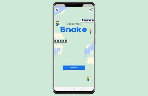 Zo speel je Snake in de Google Maps-app