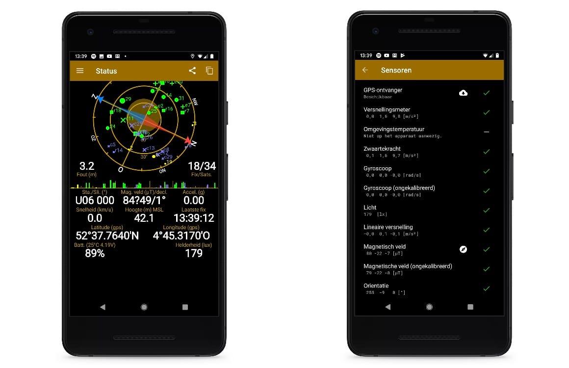 GPS problemen android oplossen