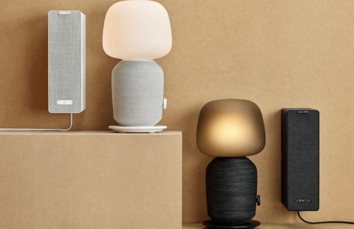 Deze Sonos-speakers van IKEA zijn ook een tafellamp of boekenplank