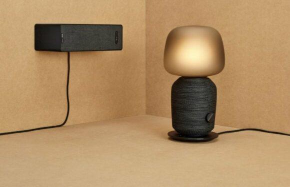 IKEA's tafellamp en boekenplank met Sonos-speaker vanaf 1 augustus te koop