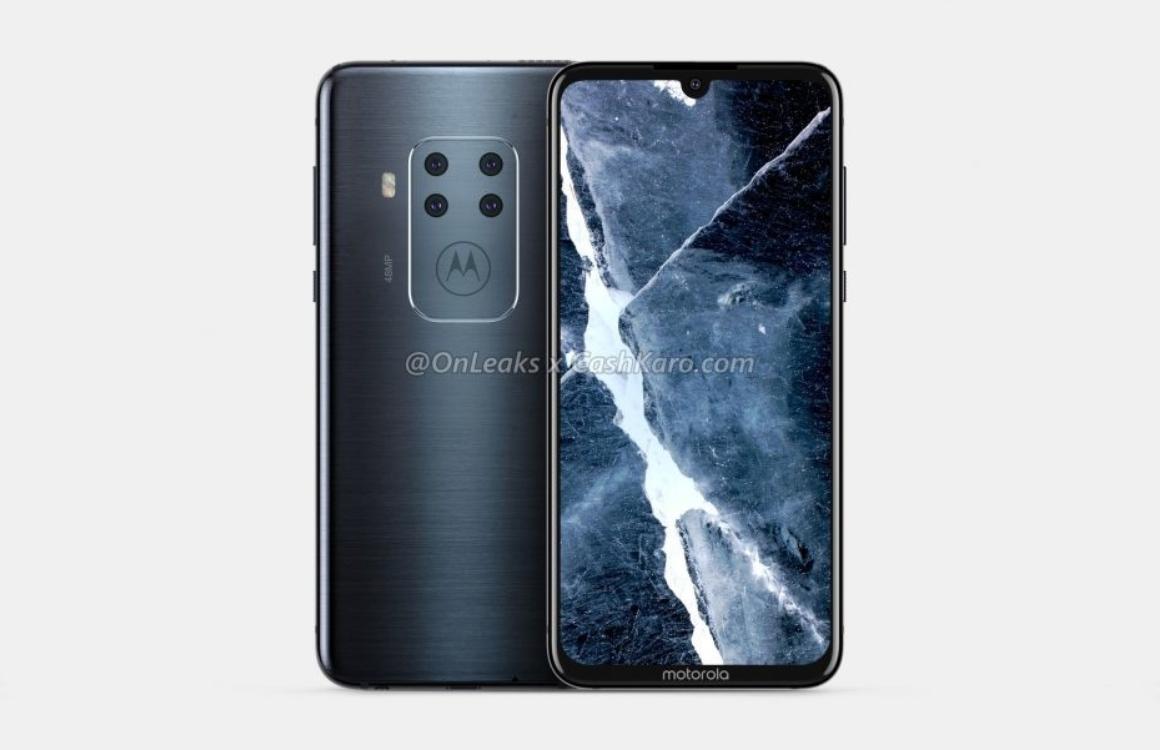 'Gelekte beelden tonen mysterieuze Motorola met vier camera's achterop'