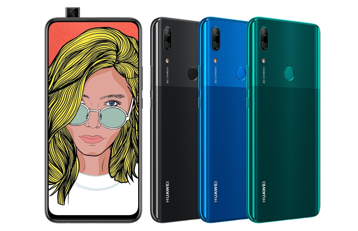 Huawei P Smart Z onthuld: budgetsmartphone met uitschuifbare selfiecamera