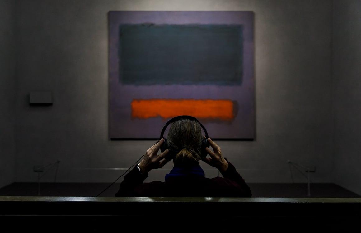 Column: In je eentje zonder telefoon, maar met Rothko