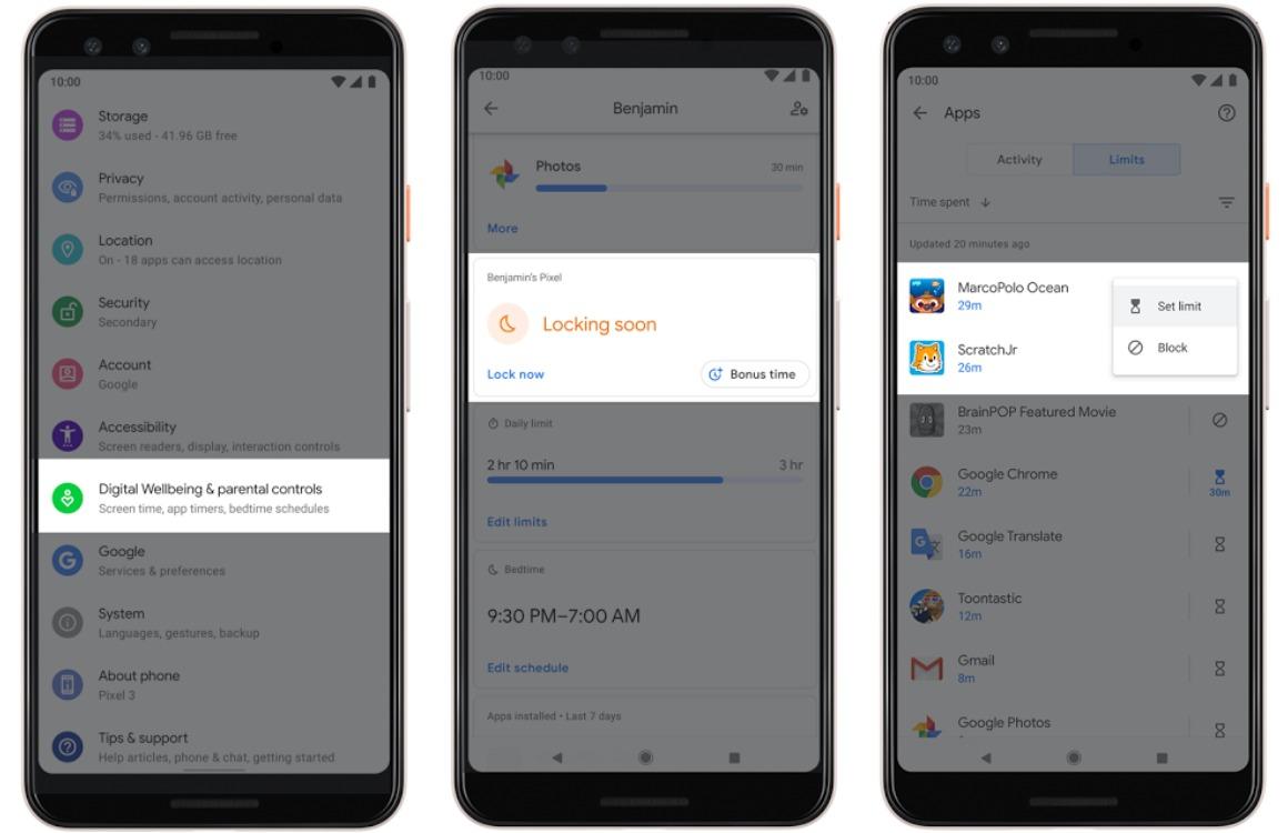 Android 10.0 Q Focusmodus en Bubbels (1)