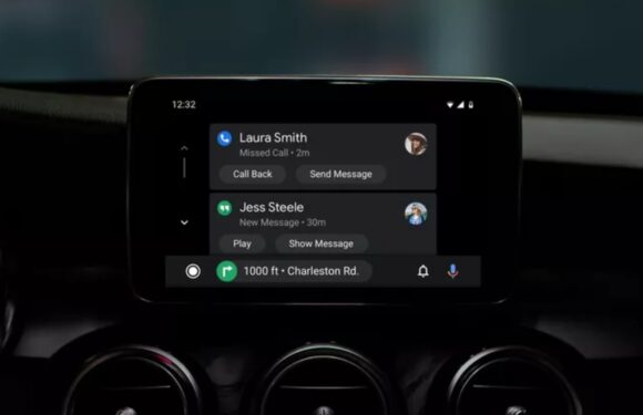 Android Auto donkere modus-update