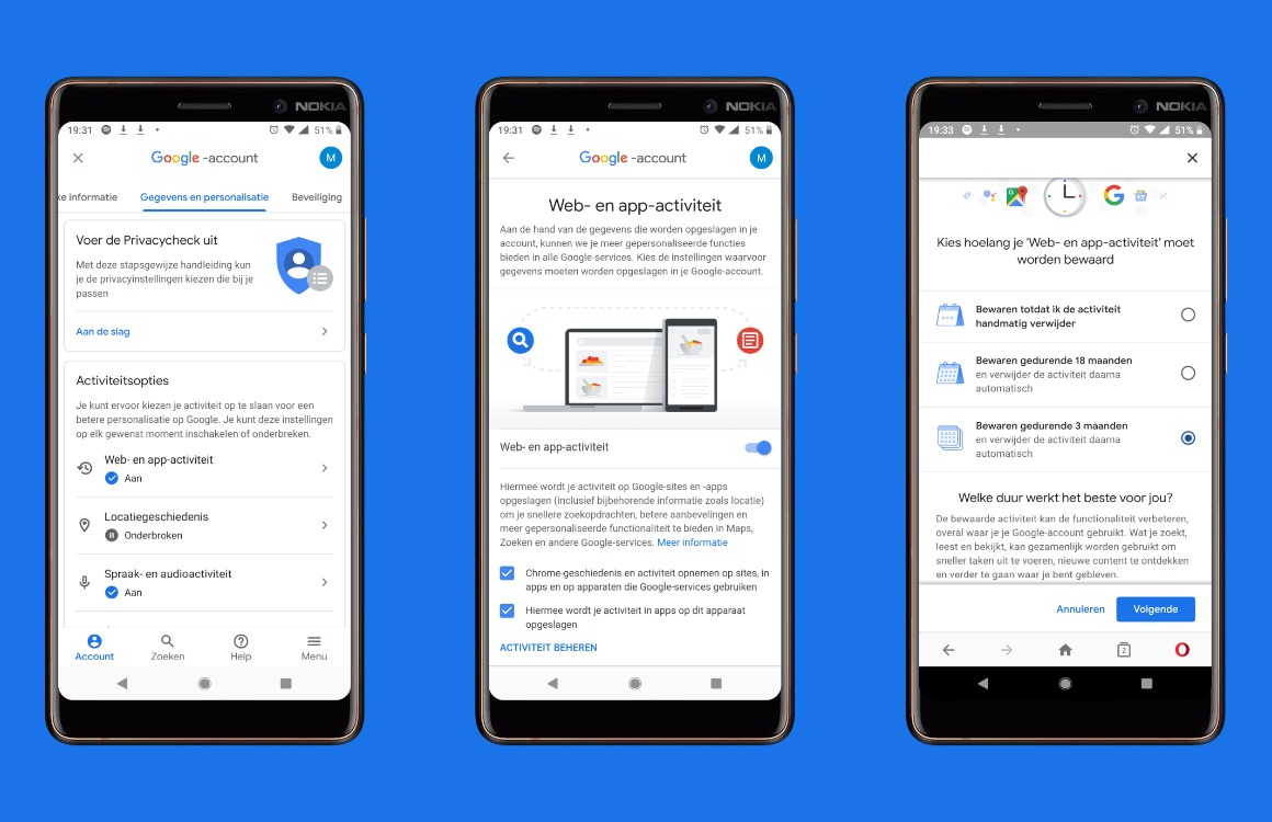 Google-data verwijderen automatisch